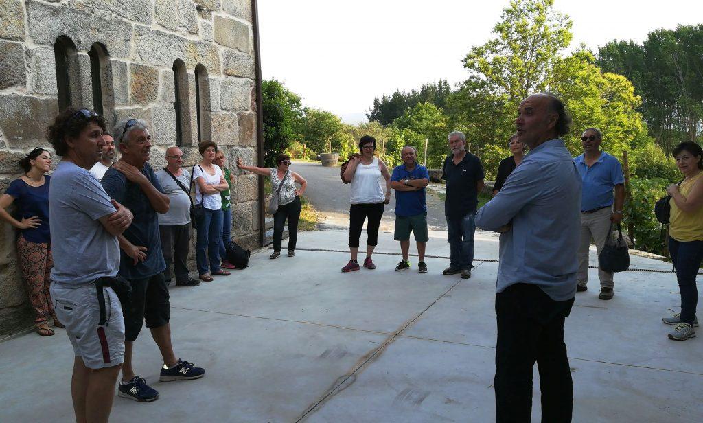 excursión Galicia grupo enológico