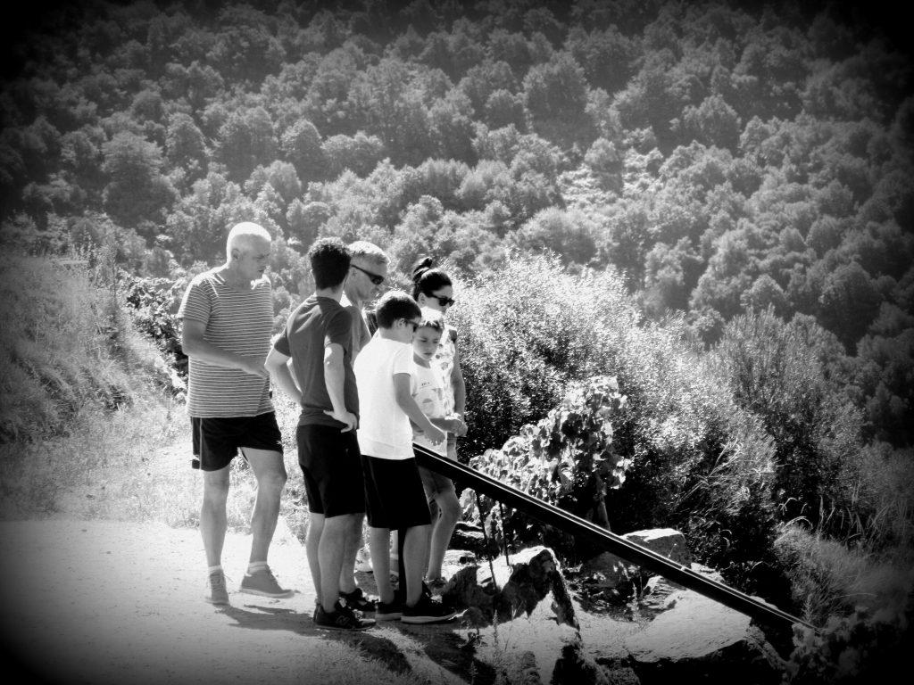wxcursión en familia a la Ribeira Sacra