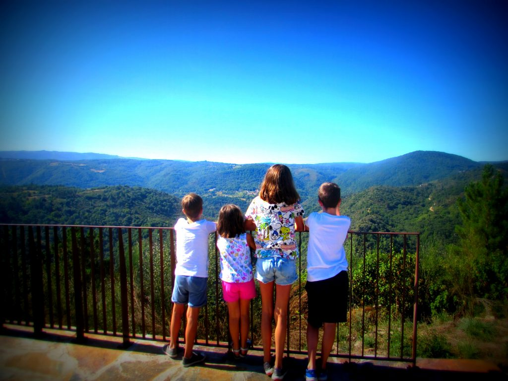 Ruta en familia por la Ribeira Sacra